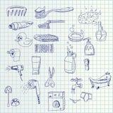 Icone di tiraggio della mano royalty illustrazione gratis