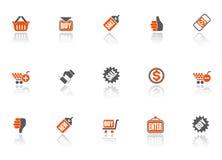 Icone di vendita Immagine Stock