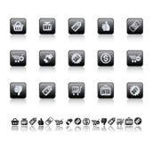 Icone di vendita Fotografia Stock Libera da Diritti