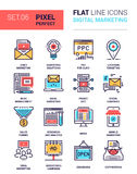 Icone di vendita di Digital Immagini Stock Libere da Diritti
