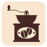 Icone di vettore del caffè Fotografia Stock