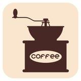 Icone di vettore del caffè Immagini Stock Libere da Diritti