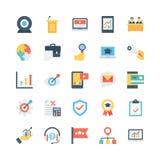 Icone 13 di vettore di affari illustrazione di stock