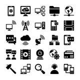 Icone 2 di vettore di comunicazione e della rete illustrazione vettoriale