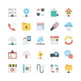 Icone 1 di vettore di comunicazioni e della rete royalty illustrazione gratis