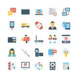 Icone 4 di vettore di comunicazioni e della rete illustrazione di stock