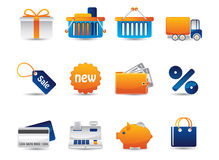 Icone di vettore di Web Fotografia Stock