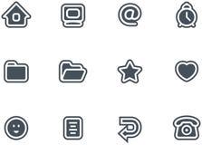 Icone di vettore impostate illustrazione di stock