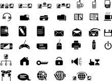 Icone di Web. Fotografia Stock Libera da Diritti