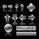 Icone di Web Fotografie Stock