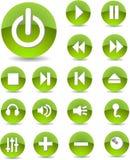 Icone di Web Immagine Stock