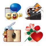 Icone di Web & del calcolatore IV Immagine Stock