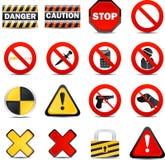 Icone di Web di colore - limitazioni Immagine Stock