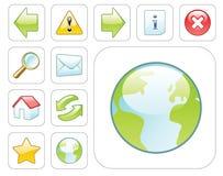 Icone di Web di vettore Immagine Stock Libera da Diritti