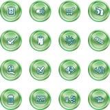 Icone di Web e del calcolatore Fotografia Stock
