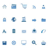 Icone di Web e del Internet Immagine Stock Libera da Diritti