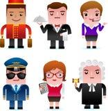 Icone di Web - gente professionale Immagine Stock