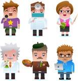 Icone di Web - gente professionale Immagine Stock Libera da Diritti