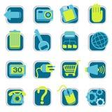 Icone di Web site Immagine Stock