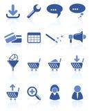 Icone di Web site Immagini Stock Libere da Diritti