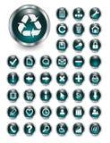 Icone di Web, tasti Immagine Stock Libera da Diritti