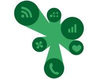 Icone di Webdesign Fotografia Stock Libera da Diritti