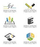 Icone educative illustrazione di stock