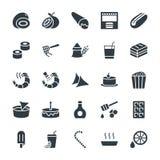 Icone fresche 11 di vettore dell'alimento royalty illustrazione gratis