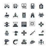 Icone fresche 1 di vettore di gioco Immagini Stock