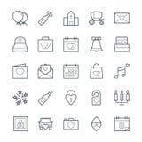 Icone fresche 1 di vettore di nozze royalty illustrazione gratis