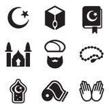 Icone islamiche Fotografia Stock