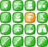 Icone mediche royalty illustrazione gratis