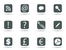 Icone nel formato di vettore Immagine Stock