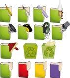 Icone per il calcolatore royalty illustrazione gratis