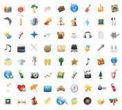 Icone per intrattenimento illustrazione di stock