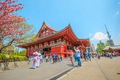 Icone popolari di Tokyo Fotografia Stock