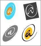 @ icone stylized Fotografia Stock Libera da Diritti