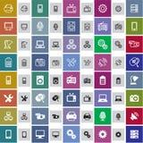 Icone tecniche Immagine Stock