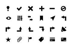 Icone universali 2 di vettore del cellulare e di web Fotografia Stock Libera da Diritti