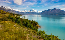 Iconic Aoraki-Mt Cook scenes Royalty Free Stock Image