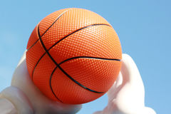 Iconic Basketball Stock Image
