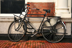 Iconic bicycle resting Royalty Free Stock Photos