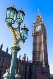 Iconic Big Ben in London Royalty Free Stock Photo