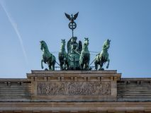 Berlin Brandenburg Gate royalty free stock images