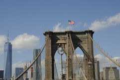 Iconic Brooklyn bridge Stock Image