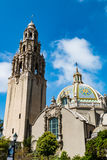 Iconic California Tower in Balboa Park Royalty Free Stock Photos