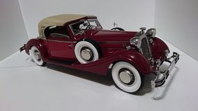 Horch 853 retro classic car - die-cast scale model stock image