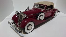 Horch 853 retro classic car - die-cast scale model stock images