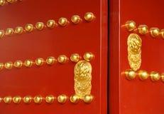 Iconic Chinese Gate, Beijing, China. Stock Image