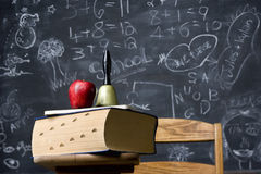 Iconic classroom still life Stock Photography
